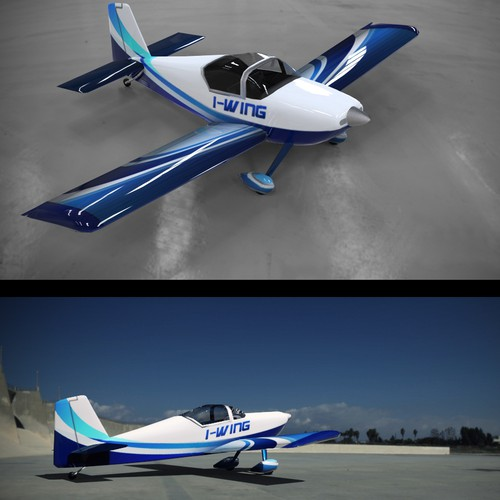 Create a modern design for the livery of an AIRCRAFT!