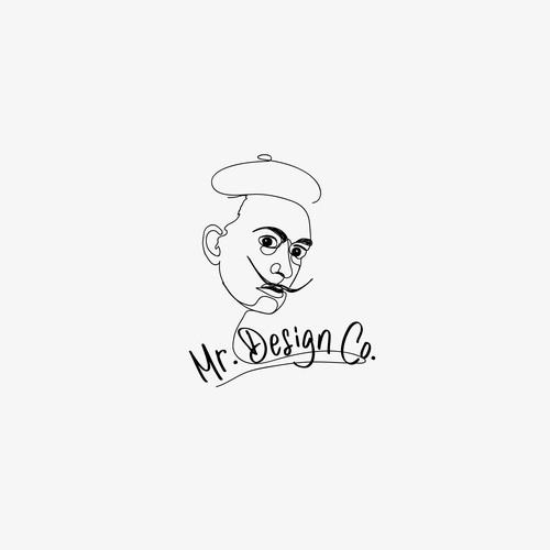 Salcador dali inspiration logo