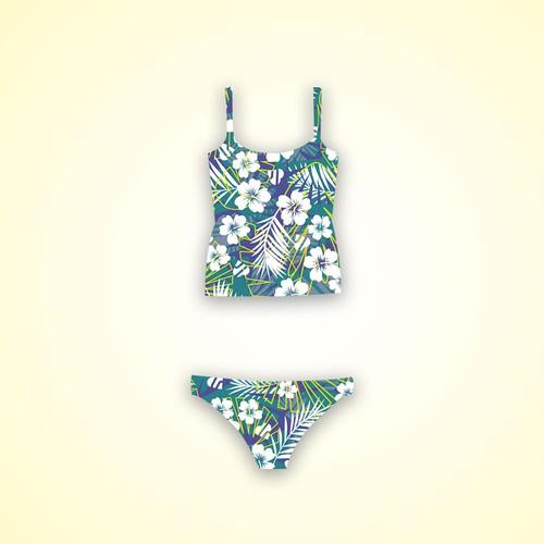Swimwear pattern design