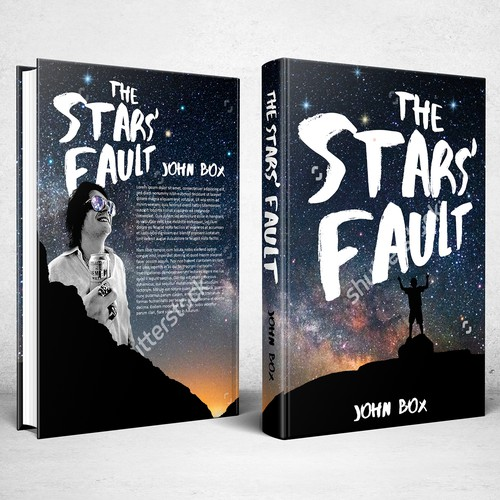 Book cover design for The Stars' Fault
