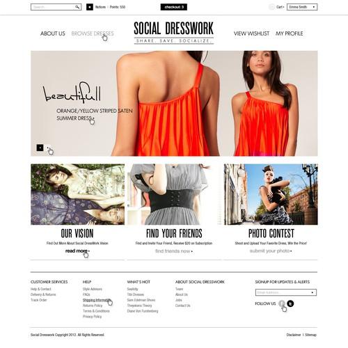 Social Dresswork - Social Network