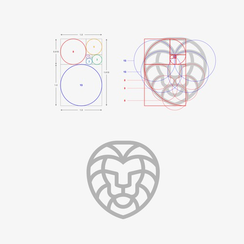 Lion Golden Ratio
