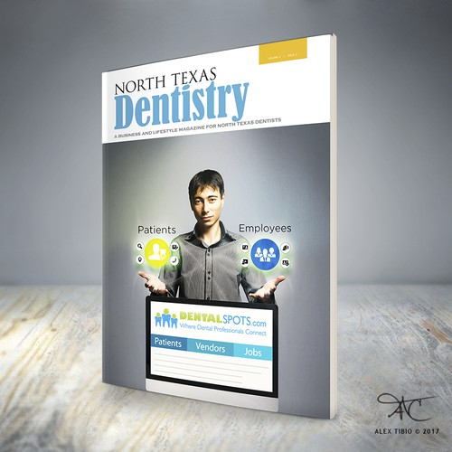 Magazine Cover for DentalSpots.com
