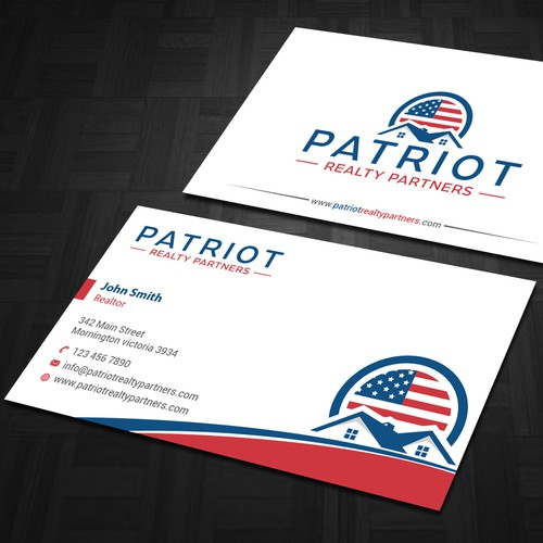 Real state Business card design