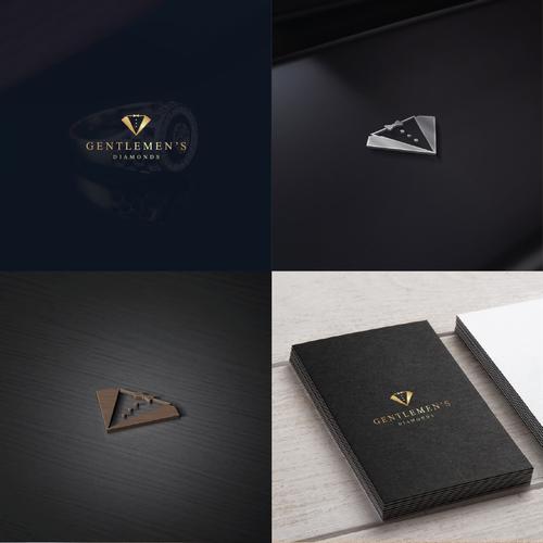 luxury logo for Gentlemen's Diamonds
