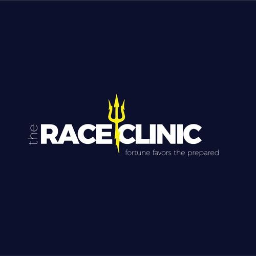 Fast swimming logo