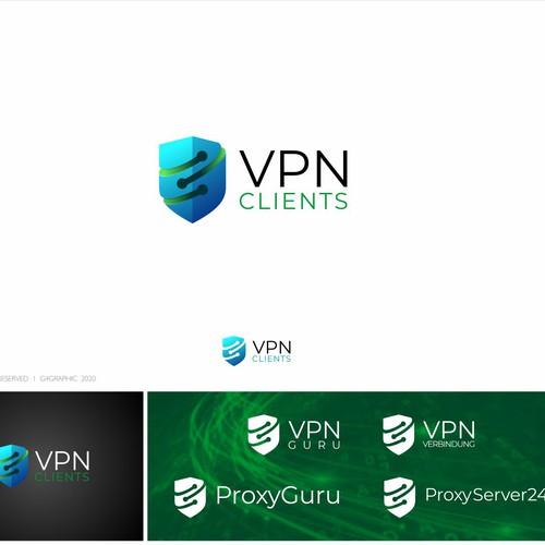 VPN 3D LOGO