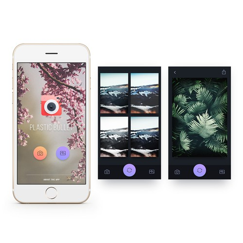 Photo filter app for iOS