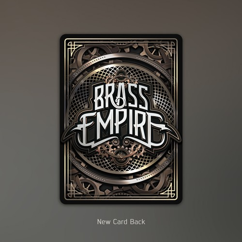 Brass Empire TCG/Card Game Template