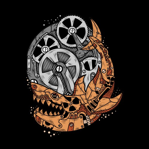 clockwork shark