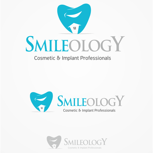 Create a logo/brand identity for modern, high end cosmetic dental office.