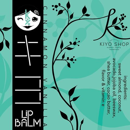Product label design for kiyo shop