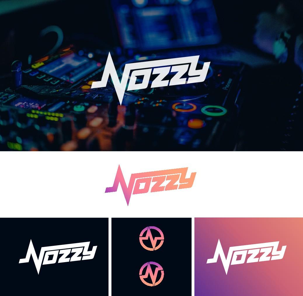 DJ NOZZYのロゴ作成お願いします!!
