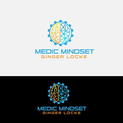 Creation of a clean image for a podcast/blog called Medic Mindset.