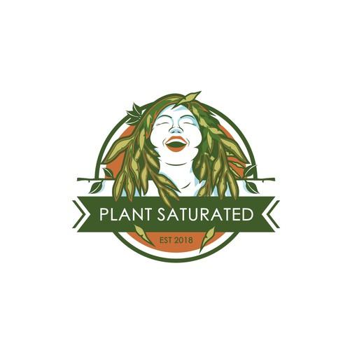 Urban Jungle Plant LOGO - Clean, Playful, and Modern