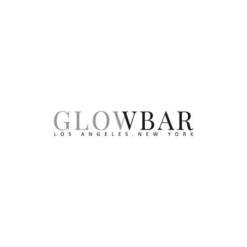 Logo for GLOWBAR LA.NY
