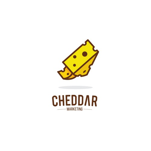 Unique logo concept for Cheddar Marketing