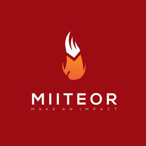 Simple and Clean Logo for Miiteor