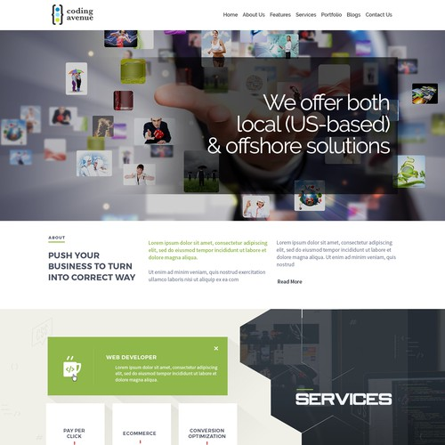 Technology Company Website