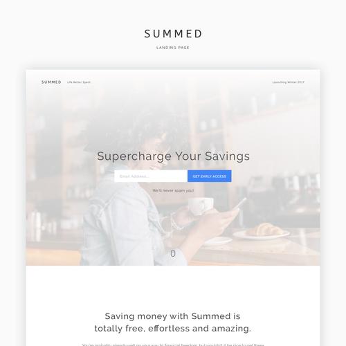 Savings Website