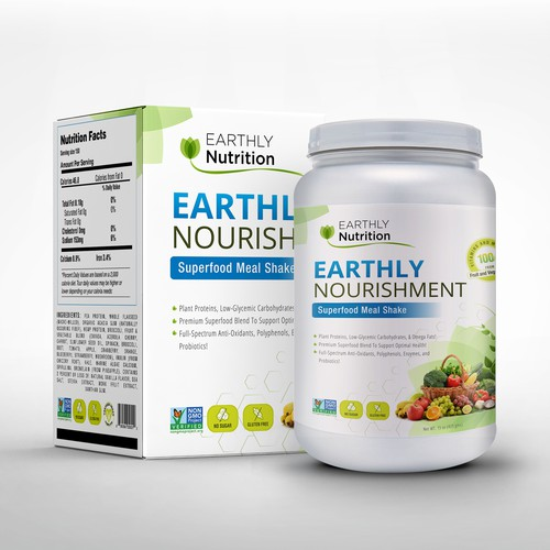 Packaging For Nutritional Health & Fitness Supplement !