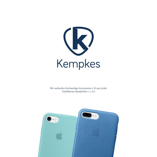Kempkes looking for simple and sophisticated logo (found it)! :)