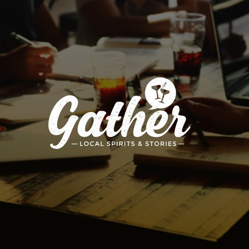 Gather logo design