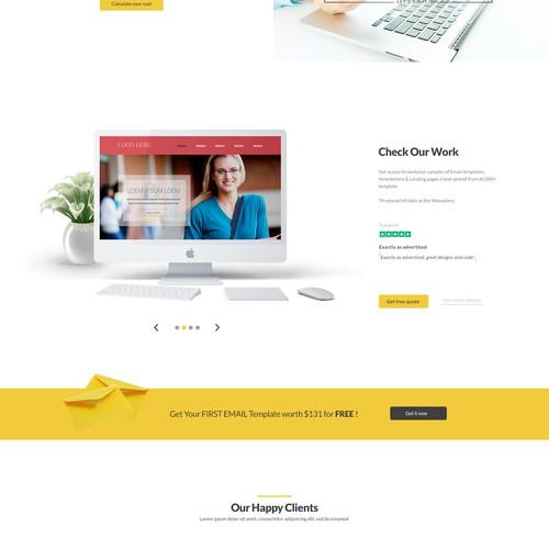 Email Monks website