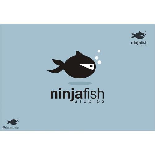 Create the next logo for Logo for Ninjafish Studios - iPhone/iPad game company.