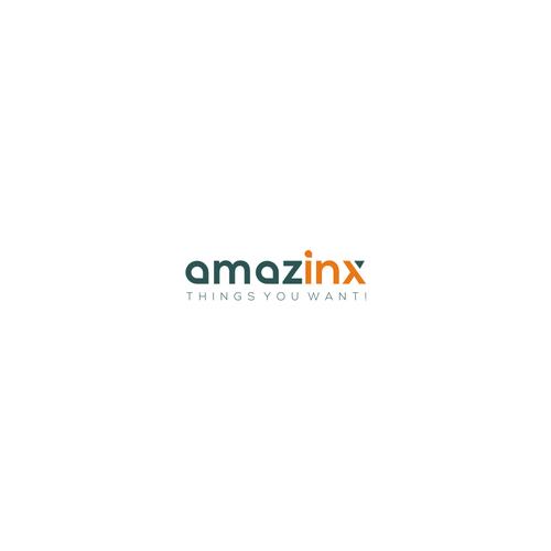 "logo Concept For Internet Company ""Amazinx"""