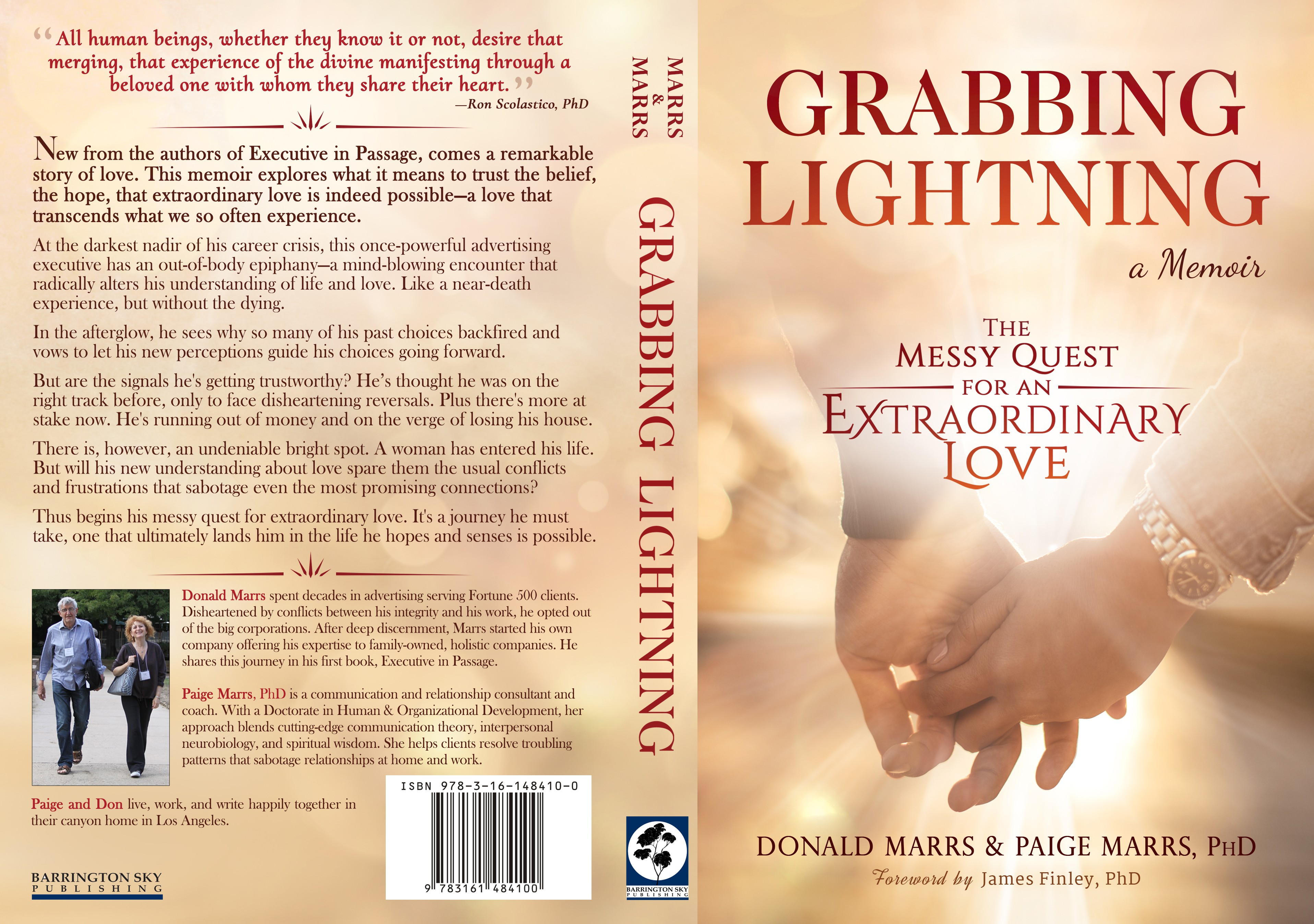Design compelling book cover for a memoir about finding extraordinary love.