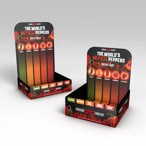Packaging Design for Hot Peppers Company
