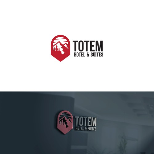 Vintage logo for TOTEM hotel & Suites