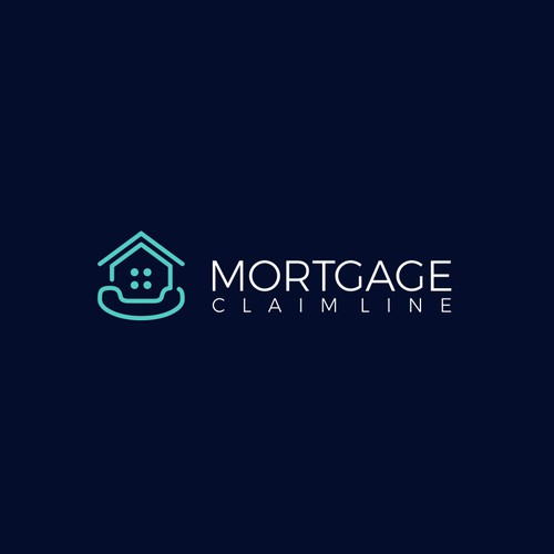 Simple & Clean logo for Mortgage Claim Line