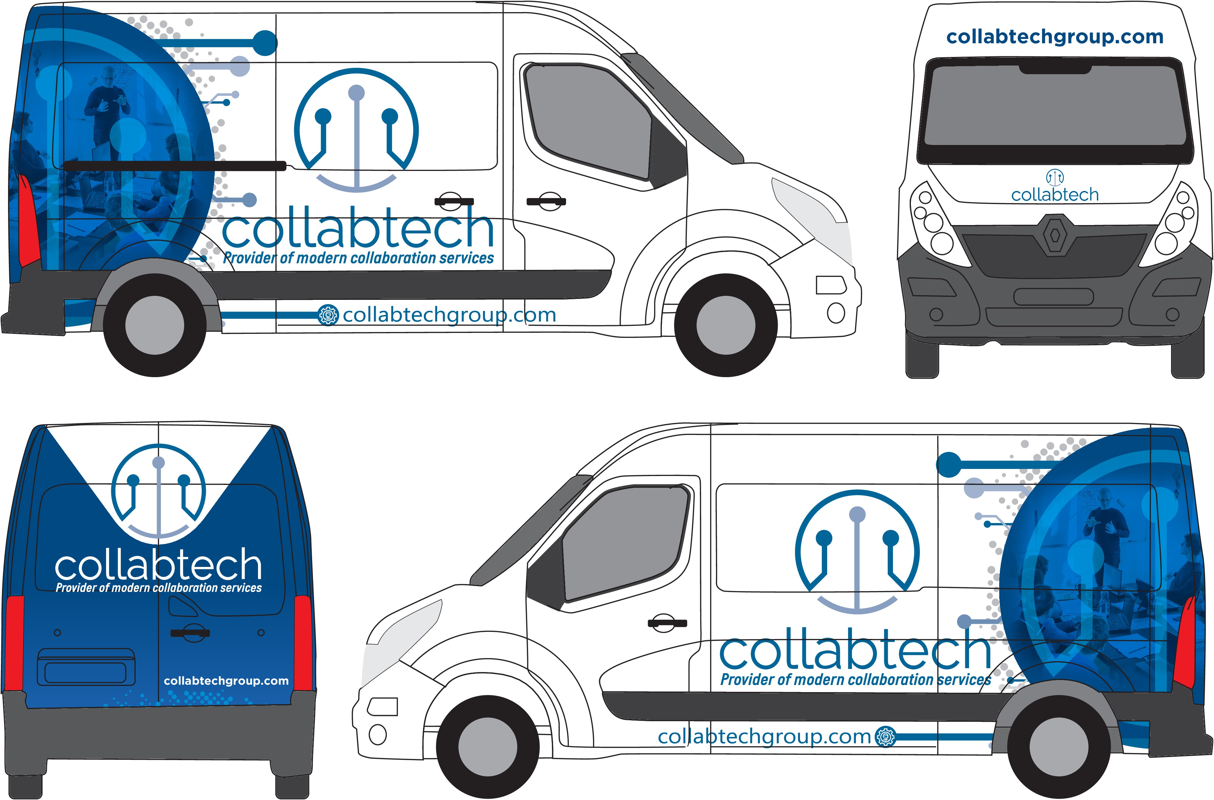 Design for the leader in Collaboration Technology Services!
