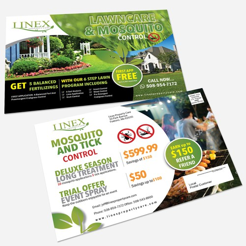 Linex Property Care Post Card