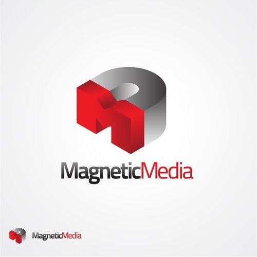 Magnetic Media logo design