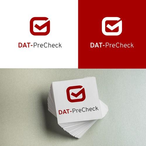 DAT-PreCheck logo logo concept