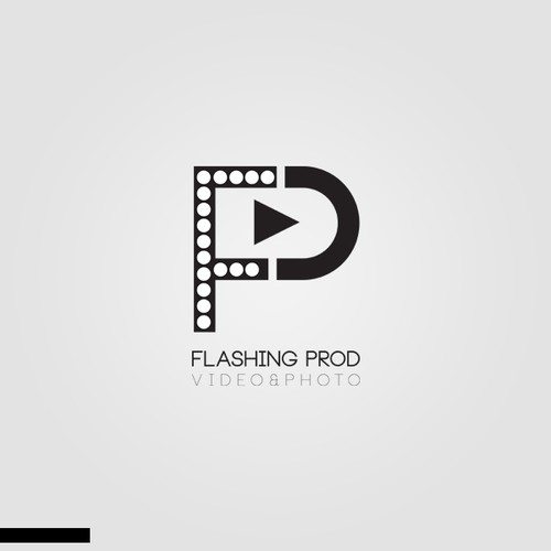 Logo concept for video&photo comp