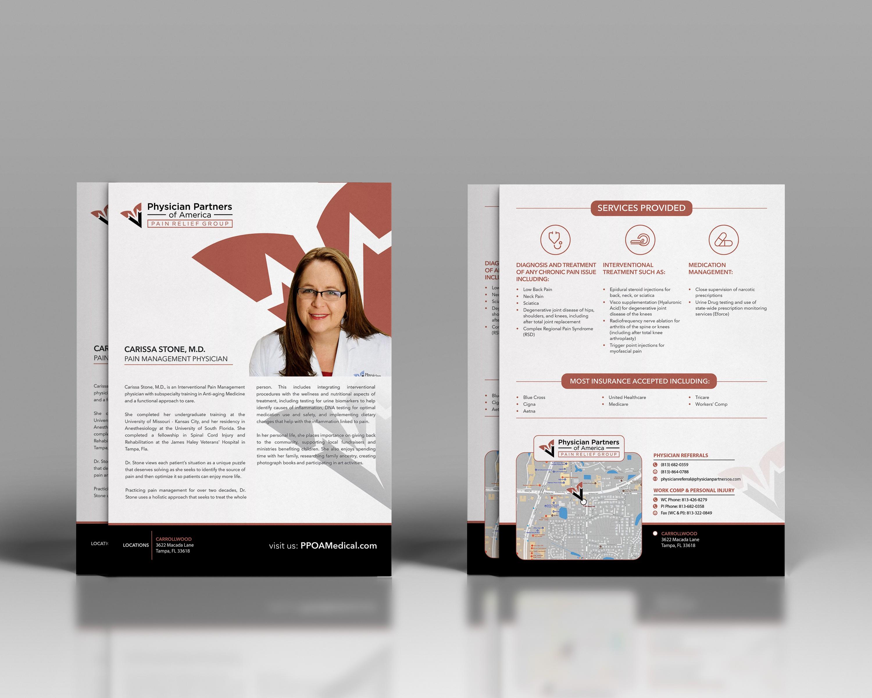 Dr. Carissa Stone Medical Practice Flyer