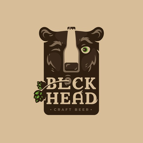 Playful Craft Beer Logo