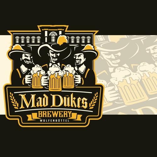 German Beer Brewery Logo