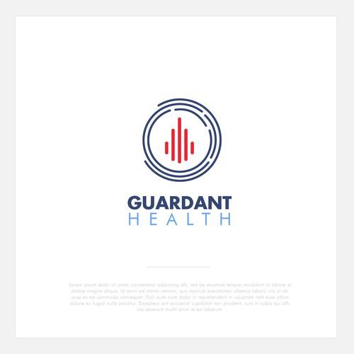 Logo design concept for Guardant Health