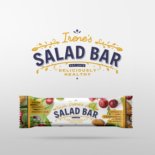 "Logo For New ""Irene's Salad Bar"""
