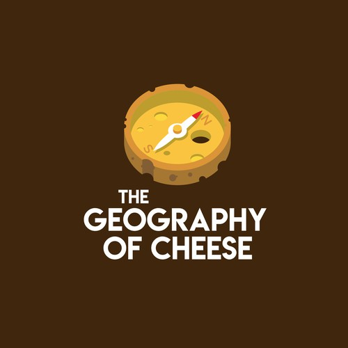 Dual Meaning Logo for Artisanal Cheese