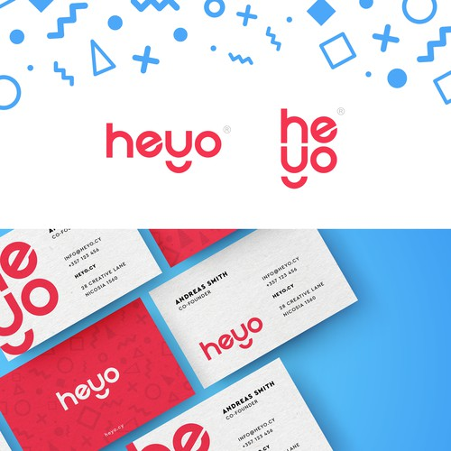 Heyo - Brand Identity