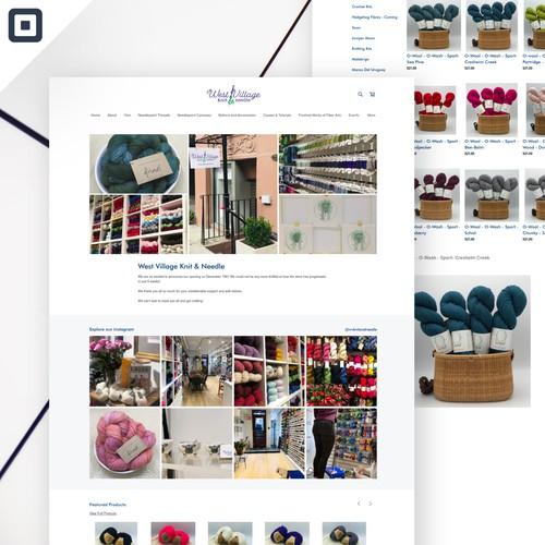 West Village Knit & Needle Square Store