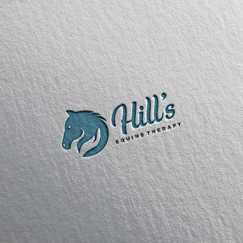 Sleek logo for Horse Care