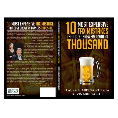 cover book for brewery accountant