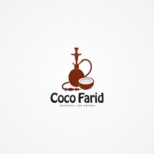 Coco Farid - Charcoal Logo Design